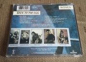 Rear of UK CD from promo box