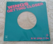 Rare Getting Closer US 45 picture sleeve