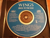 Label of later US pressing of Egg CD