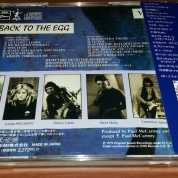 Rear of 1st Japanese pressing of Egg CD