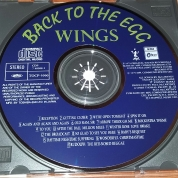 Label of 1st Japanese pressing of Egg CD