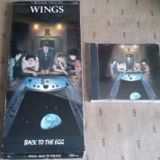 First US pressing of Egg CD with longbox