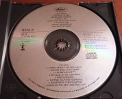 Label of first US pressing of Egg CD