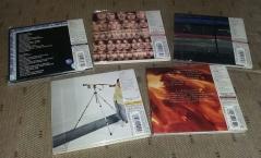 Rear of 5 Concord 2 CD SHM-CDs