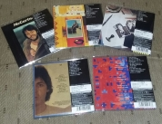 Rear of 5 Mini-Lp SHM-CDs
