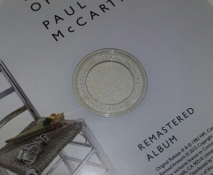 """Label of Disc 1 """"Pipes of Peace"""" 2 CD SHM-CD"""