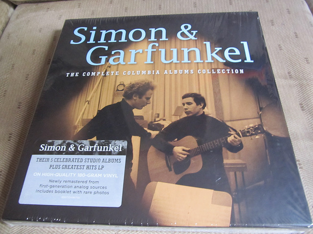 Front cover of vinyl box set