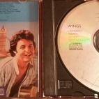 Label and insert of first US CD
