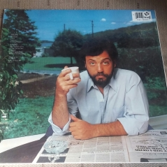 Rear cover of US original vinyl