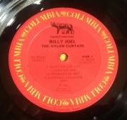 Side 1 label of US vinyl