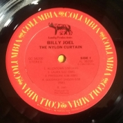 Side 1 label of US vinyl