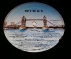 Side 2 label of first pressing Italy