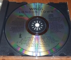 Label of later US CD - notice label change