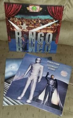 "2018 vinyl of :Ringo"" and ""Goodnight Vienna"""