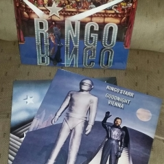 "2018 vinyl of :Ringo"" and ""Goodnight Vienna"""