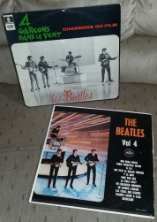 A Hard Day's Night Lp from France and Mexixo