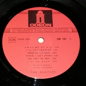 Side 2 label of French Lp