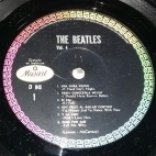 Side 1 label of Mexican Lp