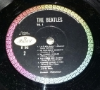Side 2 label of Mexican Lp