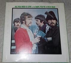 1976 UK single back cover
