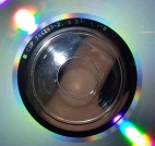 Inner hub of regular mix UK CD