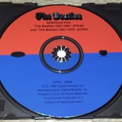 Label of 1993 Promo CD