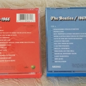 Rear of 1993 US CDs