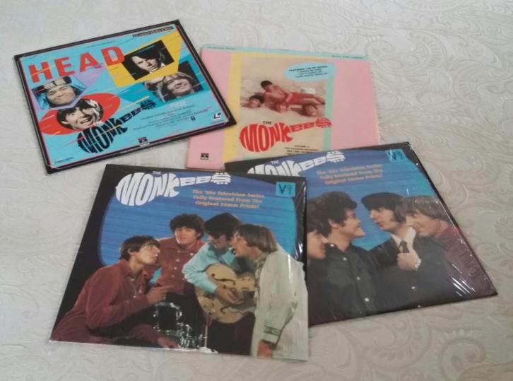 My four Monkees Laserdiscs