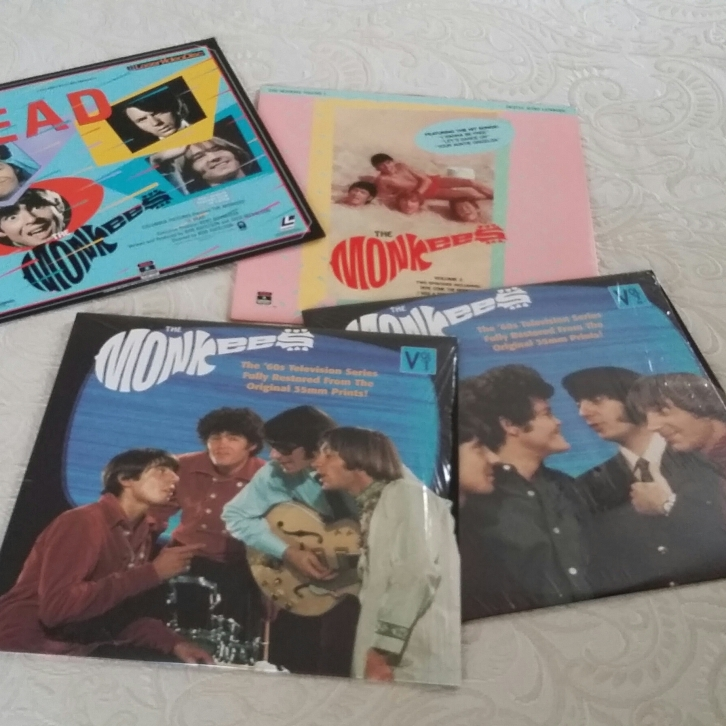 My four Monkees Laserdiscs