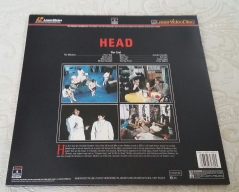 HEAD Columbia Laserdisc rear cover