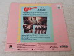 Rear cover for Columbia Vol. 3 Laserdisc