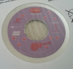 Rhino Vol. 2 Laserdisc label