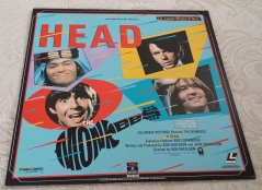 HEAD Columbia Laserdisc cover