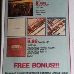 Newspaper ad for Soundcards