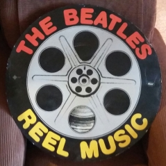 Reel Music promo sign