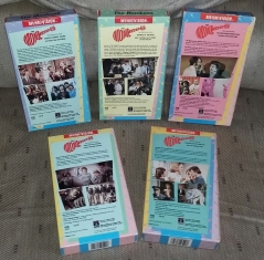 Columbia VHS Tapes - rear