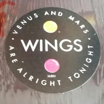 Sticker on shrink of 1980 CBS pressing