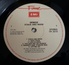 Label of UK Fame Pressing