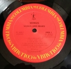 Label of 1984 CBS pressing