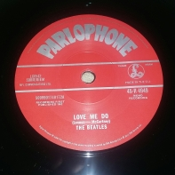 2012 reissue 45 (withdrawn version with incorrect version of Love Me Do)