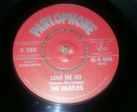 1982 UK reissue 45 from box