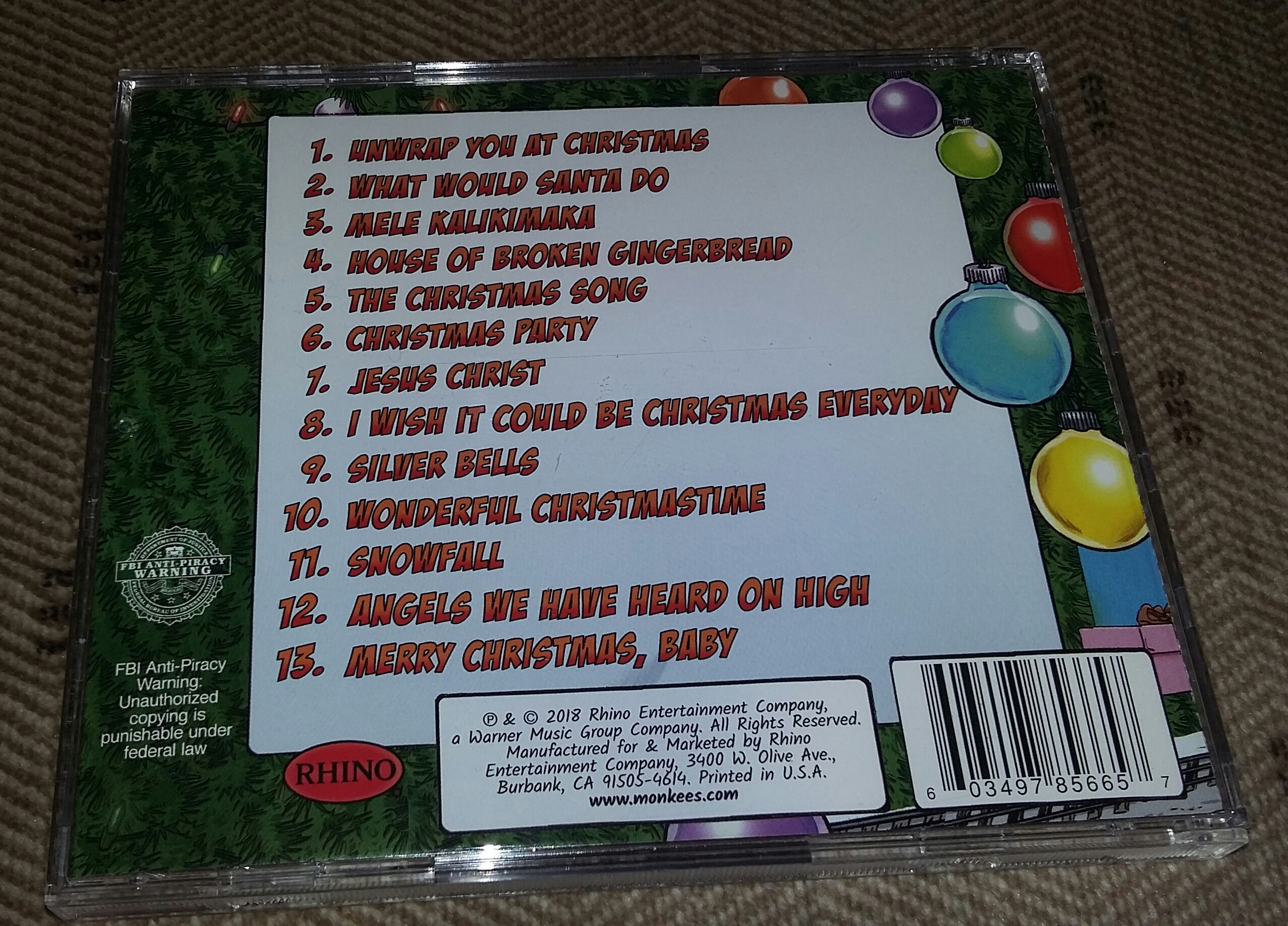 Monkees Christmas Party.Christmas In October The Monkees Christmas Party Album