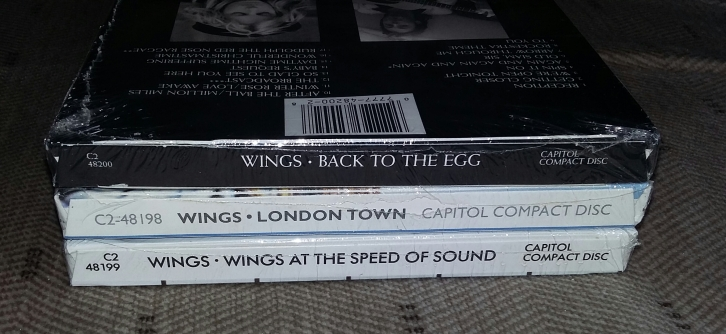 "30 Years of a ""London Speed Egg"" – First Issue U S  CD's of"
